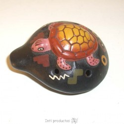 OCAR 1 Ocarina relief en céramique