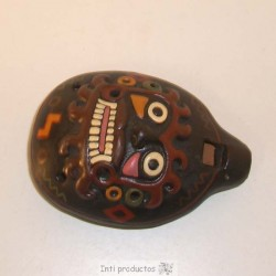 OCAR 2 Ocarina relief en céramique