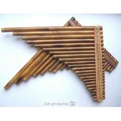 ANTARA 23 Tubes Flûte de Pan bambou