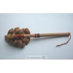 CHACCHA PALO Percussion tissage et graines