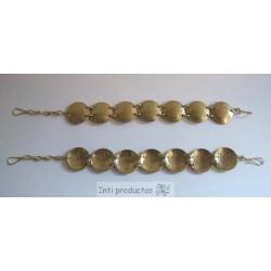 B35 B Bracelets pièces de monnaie
