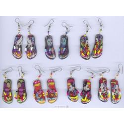 BOSANDL Boucles d'oreilles sandales