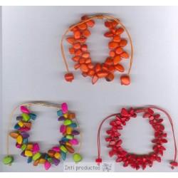 BTGR 9 Bracelet rocailles de tagua