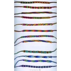 BTPEROU Bracelet macramé fin du Pérou