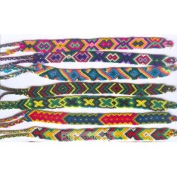 BTPEROU 2 Bracelet macramé large du Pérou