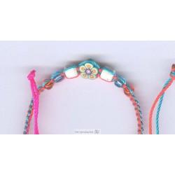 BTP6 Bracelets fil et fimo