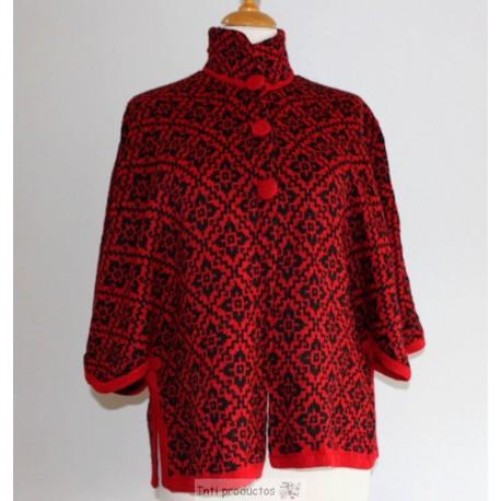 PONCHO CAPE Poncho en laine