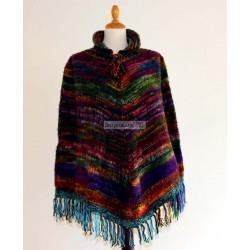 PONCHO JASP COLOR Poncho en laine acrylique