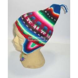Mitaines en laine multicolore du Pérou vendues pas cher. d2bfd9247ca