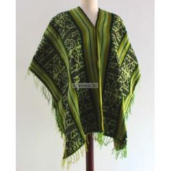 PONCHO CUSCO Poncho en laine acrylique