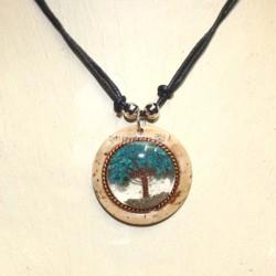 COL ARV collier arbre de vie sous résine
