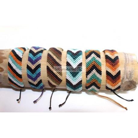 BTPEROU 3 Bracelet macramé nylon du Pérou