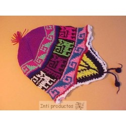 CHULLO HUANCA Bonnet acrylique enfant