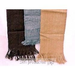 ECHARPE LAINE NAT Echarpe laine naturelle