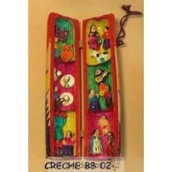 CRECHE BB 2 Crèche en bambou