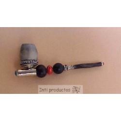 PPD 6 Pipe en métal et graines
