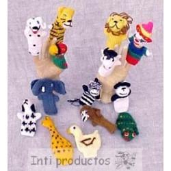 TITERES Marionnettes de doigts