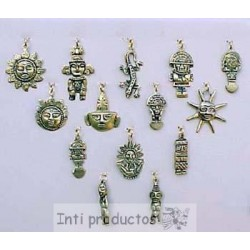 I1 B Pendentifs idoles bronze