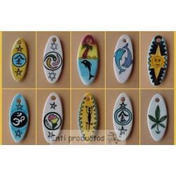 PERLES SURF L Plaque en céramique émaillée