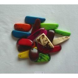 TAGUA 20 Perles en Tagua