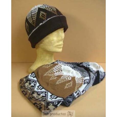 BONNET PAPA Bonnets laine naturelle