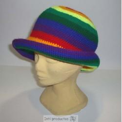 CHAPEAU ARCO IRIS Chapeaux crochet laine