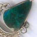 Boucles métal pierres