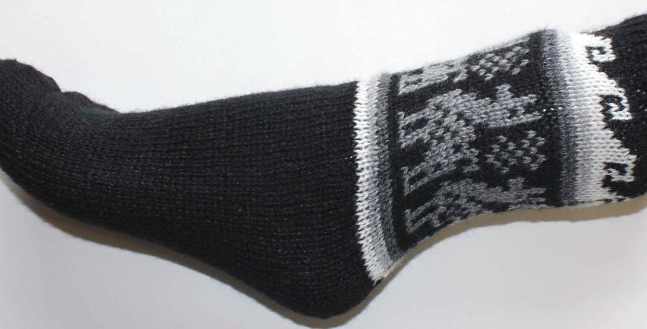 Chaussettes en laine du Pérou