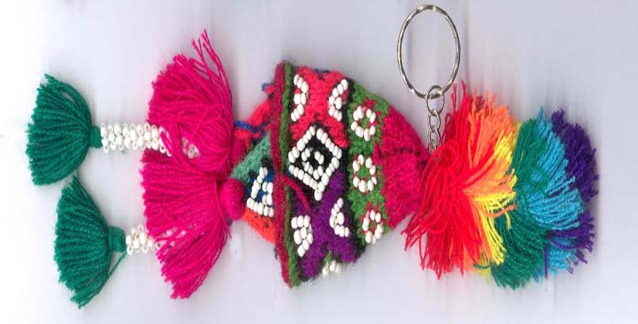 Porte clés bonnets péruviens