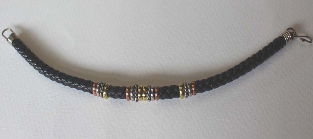 Bracelets tressés 3 métaux
